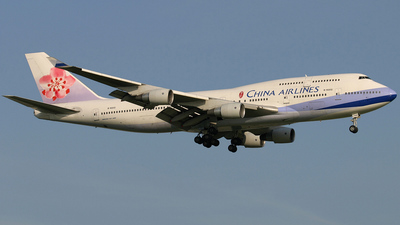 B-18201 - Boeing 747-409 - China Airlines