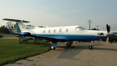 A picture of N667RB - Pilatus PC12/45 - [484] - © Alexander Schulz