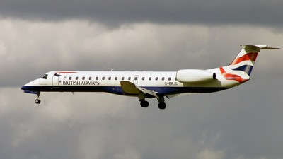 G-ERJG - Embraer ERJ-145EP - British Airways (CitiExpress)