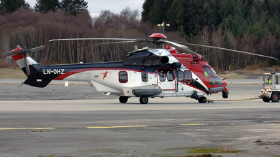 LN-OHZ - Eurocopter EC 225LP Super Puma II+ - CHC Helikopter Service