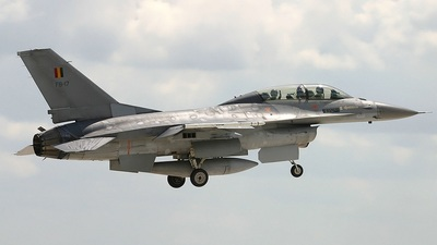 FB-17 - General Dynamics F-16BM Fighting Falcon - Belgium - Air Force
