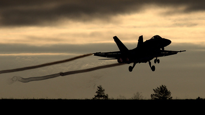 HN-420 - McDonnell Douglas F/A-18C Hornet - Finland - Air Force
