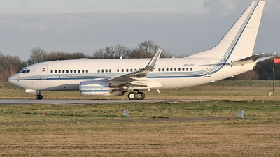Boeing 737-7AW(BBJ) - Private