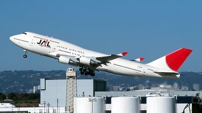 JA8906 - Boeing 747-446 - Japan Airlines (JAL)