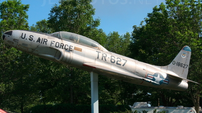 51-8627 - Lockheed T-33 Shooting Star - United States - US Air Force (USAF)