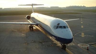 F-GPZE - McDonnell Douglas MD-82 - Air Liberté