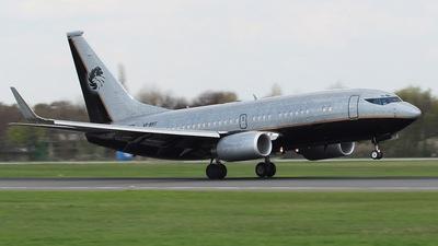 VP-BRT - Boeing 737-7BC(BBJ) - E & A Aviation