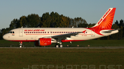 VT-SCG - Airbus A319-112 - Indian Airlines
