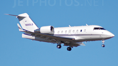 N650LG - Bombardier CL-600-2B16 Challenger 601-3A - Private
