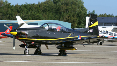 L-06 - Pilatus PC-7 - Netherlands - Royal Air Force
