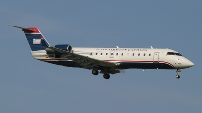 N420AW - Bombardier CRJ-200LR - US Airways Express (Air Wisconsin)