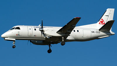 OK-CCO - Saab 340B - Czech Airlines (Central Connect Airlines)