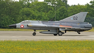 02 - Saab J-35Ö Mk.II Draken - Austria - Air Force