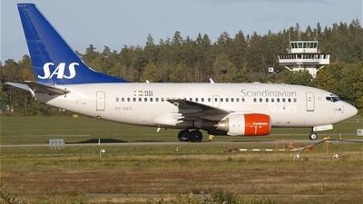 OY-KKS - Boeing 737-683 - Scandinavian Airlines (SAS)