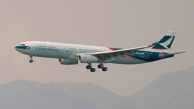 B-LAD - Airbus A330-342 - Cathay Pacific Airways