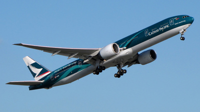B-KPF - Boeing 777-367ER - Cathay Pacific Airways