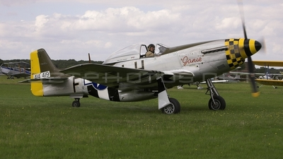G-MSTG - North American P-51D Mustang - Private