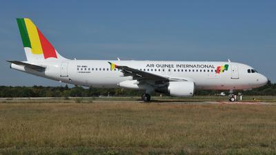 5H-MWH - Airbus A320-214 - Air Guinée International
