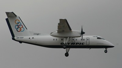 SX-BIP - Bombardier Dash 8-102A - Olympic Aviation