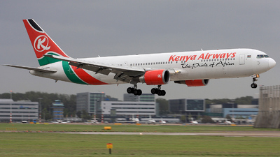 5Y-KQZ - Boeing 767-36N(ER) - Kenya Airways