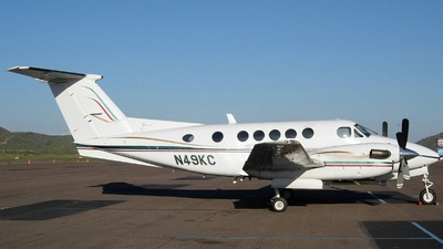A picture of N49KC - Beech 200 Super King Air - [BB318] - © Sun Valley Aviation