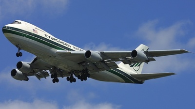 N487EV - Boeing 747-230B(SF) - Evergreen International Airlines