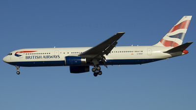 G-BNWH - Boeing 767-336(ER) - British Airways