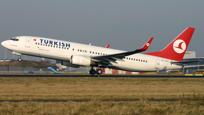 TC-JFT - Boeing 737-8F2 - Turkish Airlines