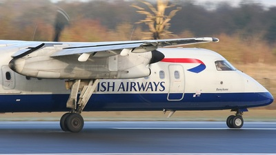 G-BRYU - Bombardier Dash 8-Q311 - British Airways (CityFlyer Express)
