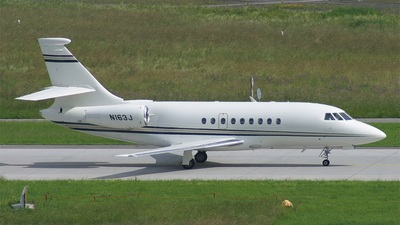 N163J - Dassault Falcon 2000 - Private