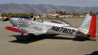 N878DZ - Vans RV-8 - Private
