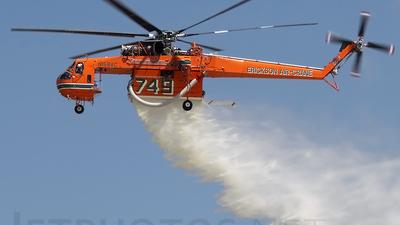 N158AC - Sikorsky S-64F Helitanker - Erickson Air Crane