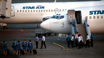 PK-ALK - Boeing 737-236(Adv) - Star Air