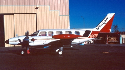 N401VA - Piper PA-31T3 T-1040 - Vision Airlines