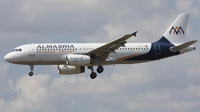 SU-TCA - Airbus A320-232 - Almasria Universal Airlines