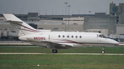 N601RS - Raytheon Hawker 800XP - Private