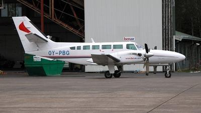 OY-PBG - Reims-Cessna F406 Caravan II - BenAir