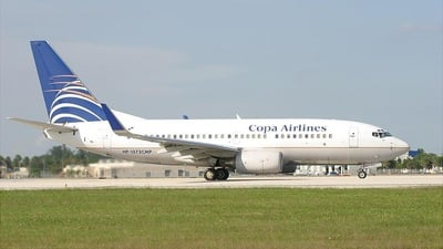 HP-1373CMP - Boeing 737-7V3 - Copa Airlines
