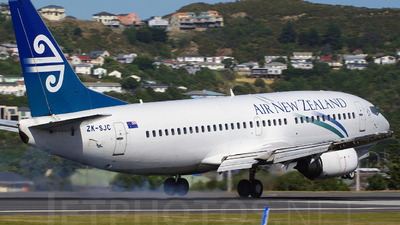 ZK-SJC - Boeing 737-3U3 - Air New Zealand