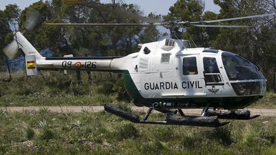 HU.15-67 - MBB Bo105 - Spain - Guardia Civil