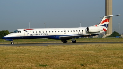 G-ERJC - Embraer ERJ-145EP - British Airways (CityFlyer Express)