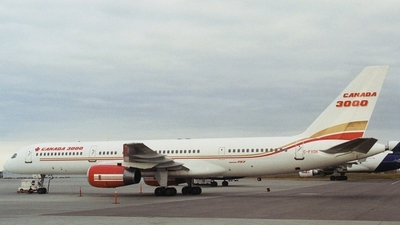C-FXOK - Boeing 757-23A - Canada 3000 Airlines
