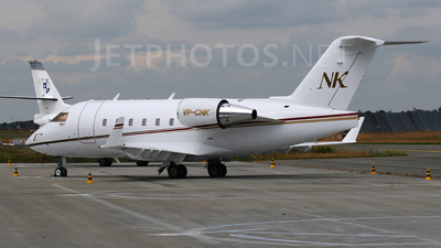 VP-CNK - Bombardier CL-600-2B16 Challenger 604 - Twinjet Aircraft