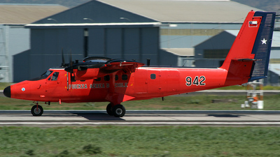 942 - De Havilland Canada DHC-6-300 Twin Otter - Chile - Air Force