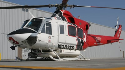 N303FD - Bell 412EP - United States - Los Angeles Fire Department