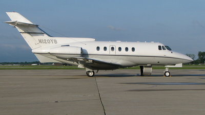 N120YB - Hawker Siddeley HS-125-700A - Private