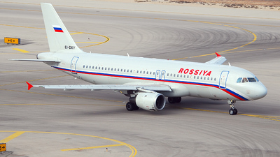 EI-DXY - Airbus A320-212 - Rossiya Airlines