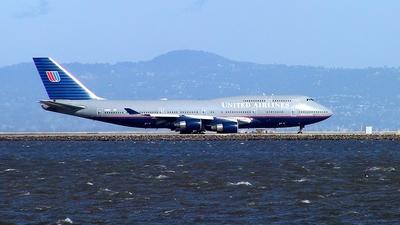 N188UA - Boeing 747-422 - United Airlines