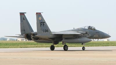 81-0041 - McDonnell Douglas F-15C Eagle - United States - US Air Force (USAF)