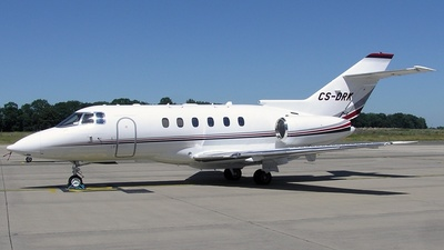CS-DRK - Raytheon Hawker 800XP - NetJets Europe
